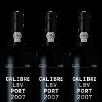 Caixa de 3 Garrafas Calibre Vinho do Porto LBV 2007 Produzido por Caves da Cerca em São João da Pesqueira