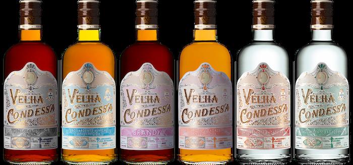 Velha Condessa Pack 6 Spirits Produzido por Caves da Cerca em Amarante